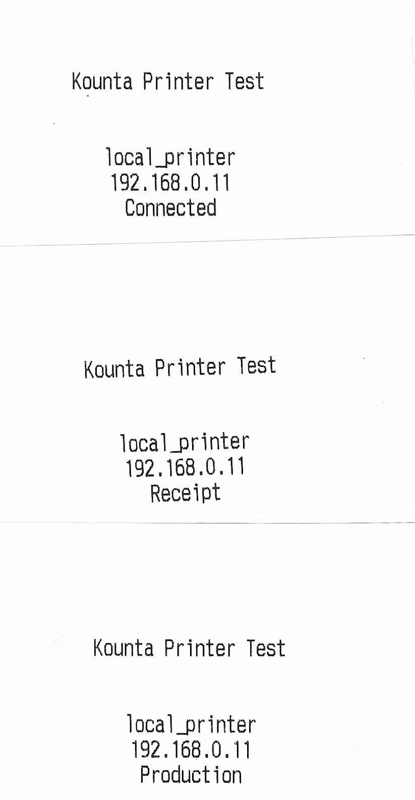 Epson TM-T88VI Test Print Failed on Kounta via Chrome - iTropics net